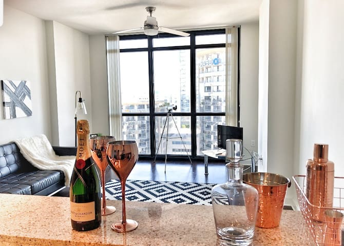 EXCLUSIVE & LUXURY 1 BDR DOWNTOWN/SPECTACULAR VIEW