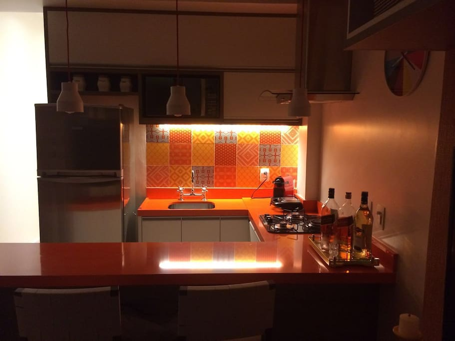 Mini cozinha toda transada