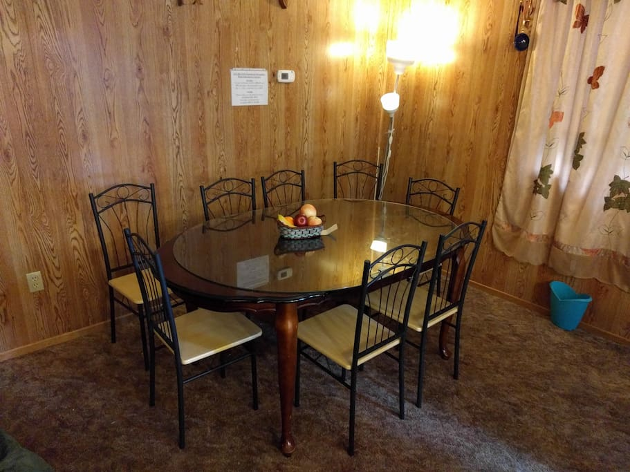 New Dining Table/Chairs