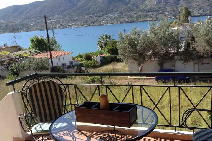 Traditional house with great view 50m from the sea