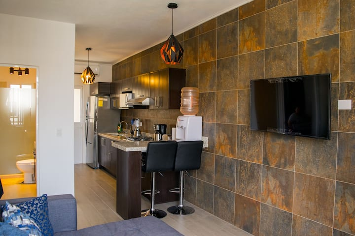 Modern Condo in PVR W/ King Size Bed