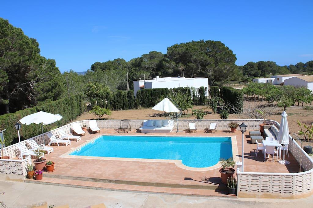 Complejo mar y monta a 4 ville in affitto a formentera - Soggiorno a formentera ...