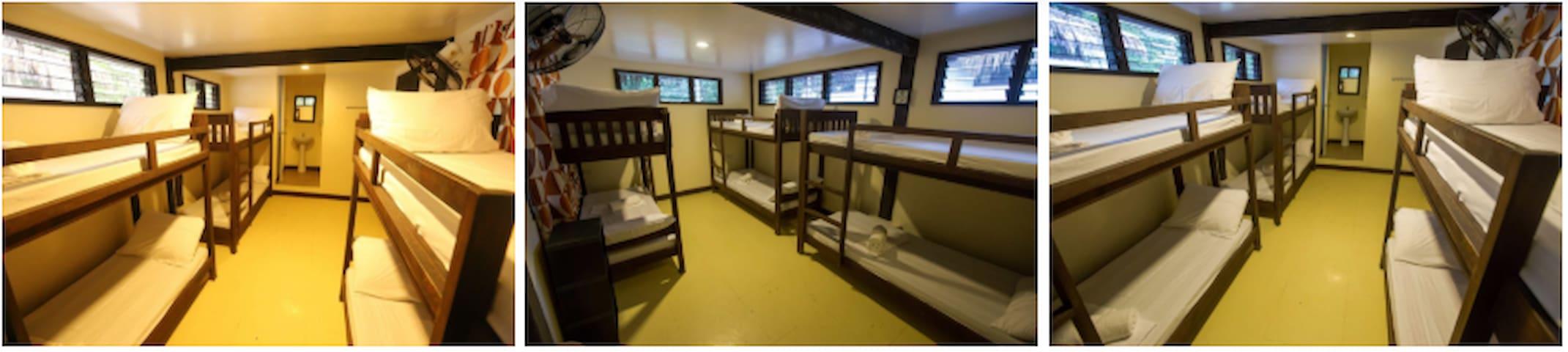 Dormitory room for 6 pax at Tejero Highland Resort
