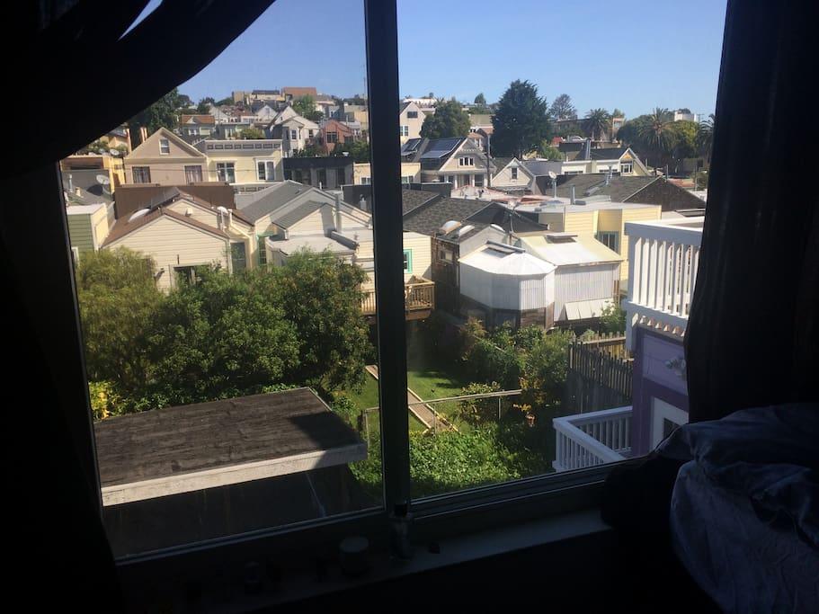 Bedroom 2 window view