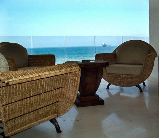 Amazing condo on the beach La Vista 203 - Manzanillo - Kondominium