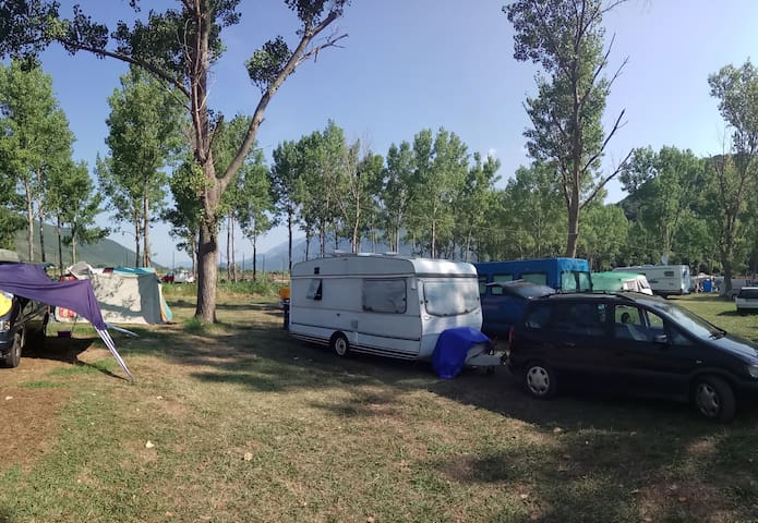 camping for 4 people the beach Yaz - Budva