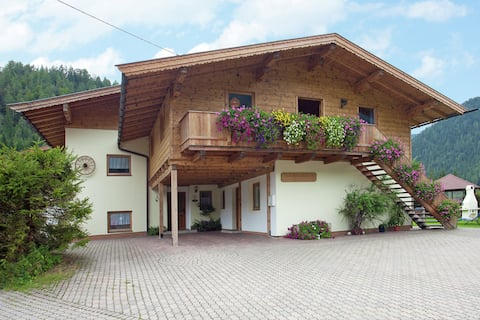 Очаровательная квартира с общим бассейном в Waidring Tyrol