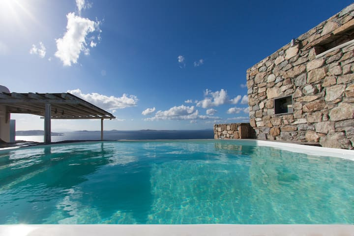 Villa Paneli magic view Mykonos