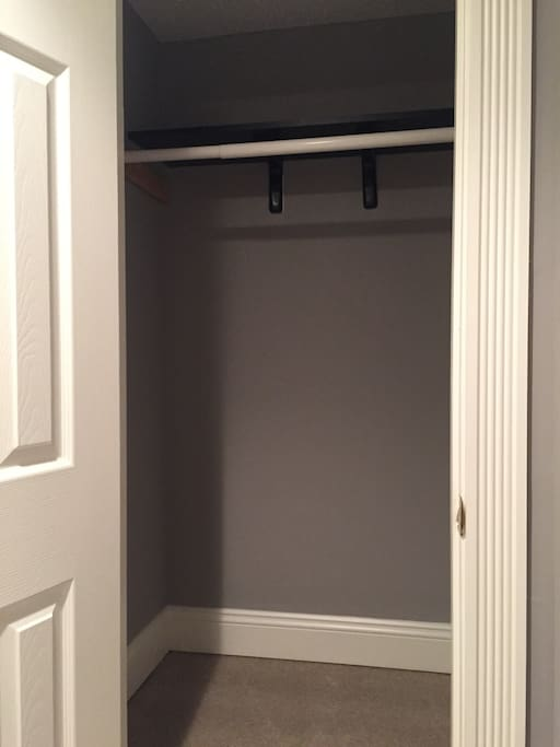 Closet in the room