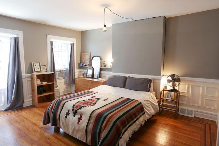 Bushwick 1BR Garden Apt - Brooklyn - Appartement