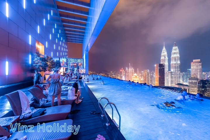 #New1_Infinity pool view Platinum Suites Near KLCC