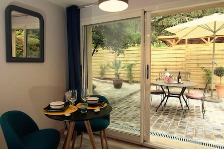 Très beau studio indépendant à 5 min d'Avignon . - Villeneuve-lès-Avignon - Appartement
