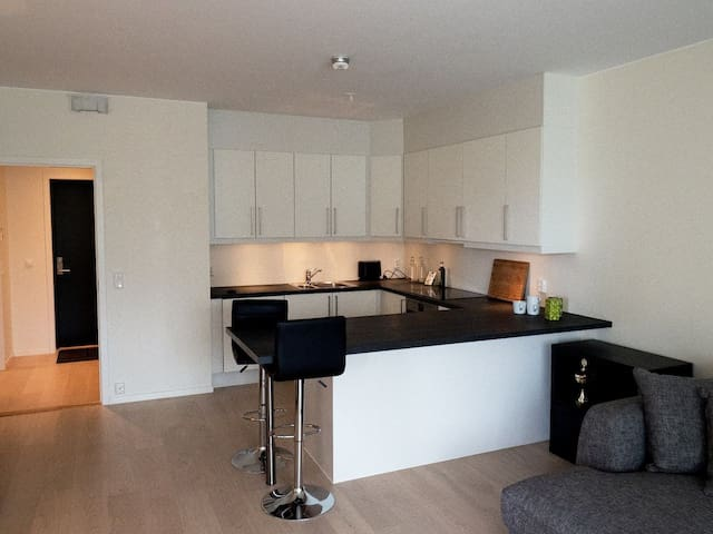 Lovely couples apartment close to city centre !
