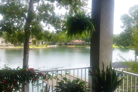 Lake front apartment with awesome outdoor space - Hot Springs Village