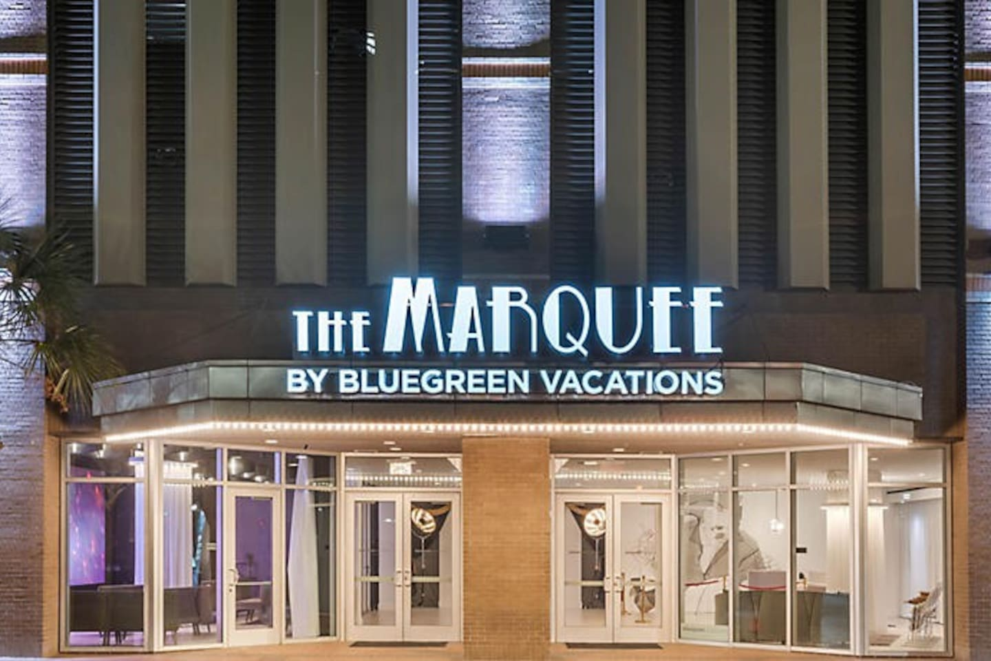 The Marquee entrance