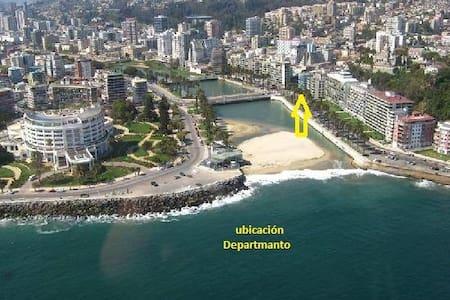 Viña del Mar, sector casino, playas