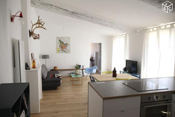 T2 rénové, 1 chambre plein centre ville de Niort. - Niort - Apartamento