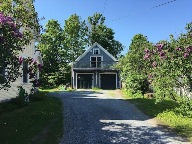 Classic New England Barn Loft