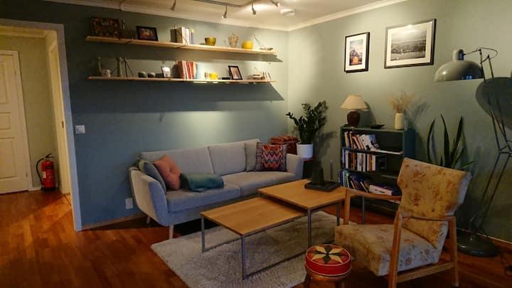 Koselig leilighet i rolig borettslag