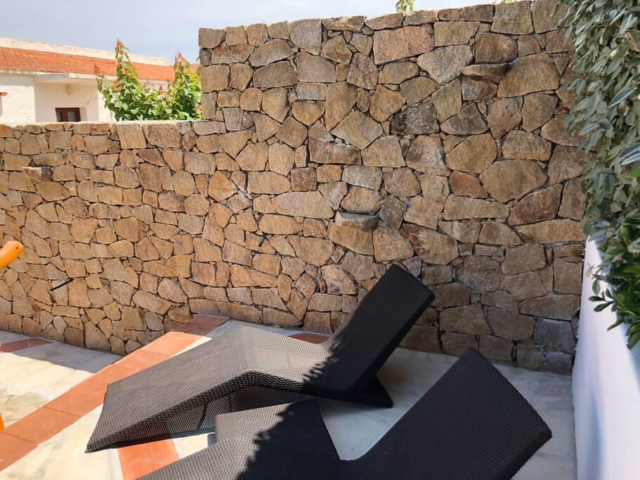 Giardino - solarium details