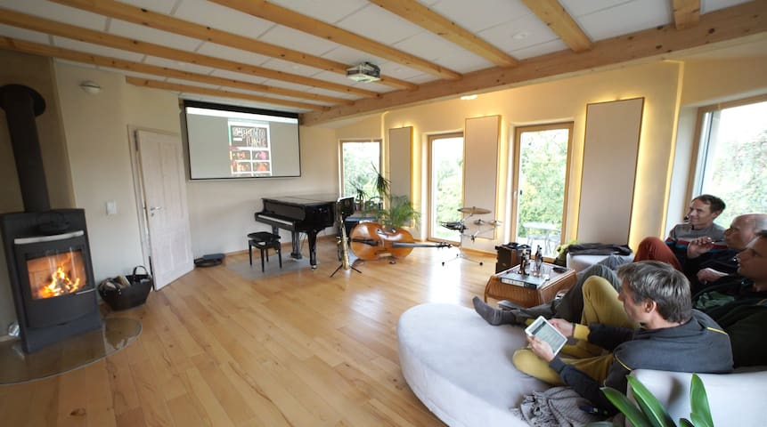 concept house designed for musicans - Sulzbach am Main - Ev