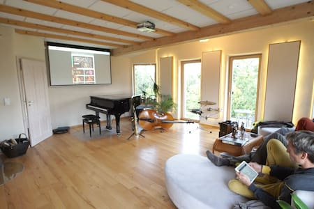 concept house designed for musicans - Sulzbach am Main - Rumah