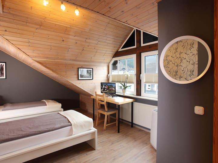 Gasthaus Mester, (Lennestadt), Einzelzimmer mit WC und Dusche