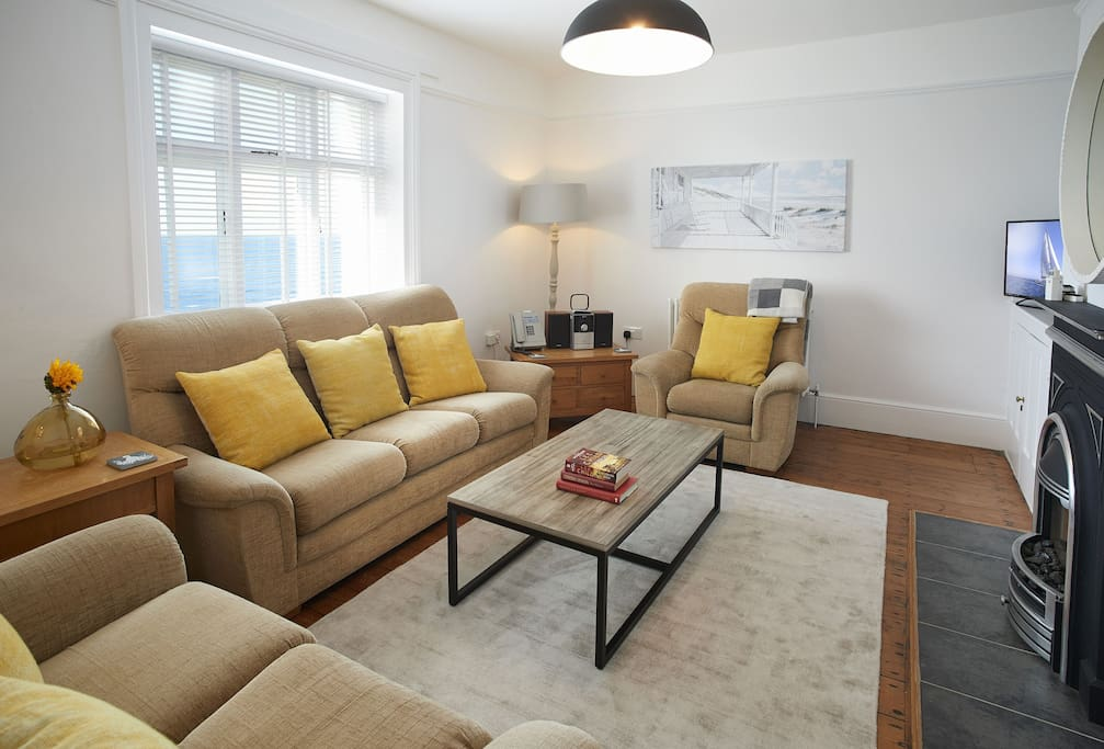 Ground floor: Sitting room with plenty of comfortable seating