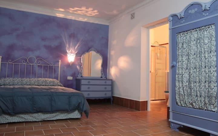 Habitación azul (Casa Rural La Alfarera)