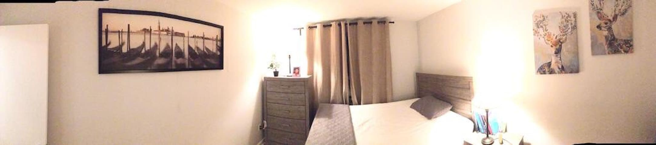 Nice and clean room in a nice and clean apartment