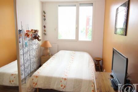 Chambre et SdB privatives à Grenoble - Grenoble - Apartment