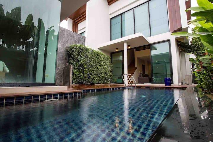 Phuket 2BR Pool Villa,Surin Beach