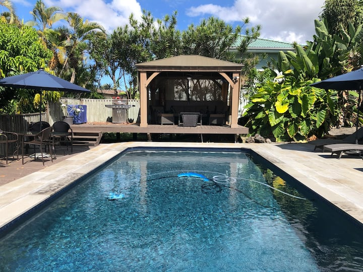 Kona dream vacation /POOL/AC/Great location