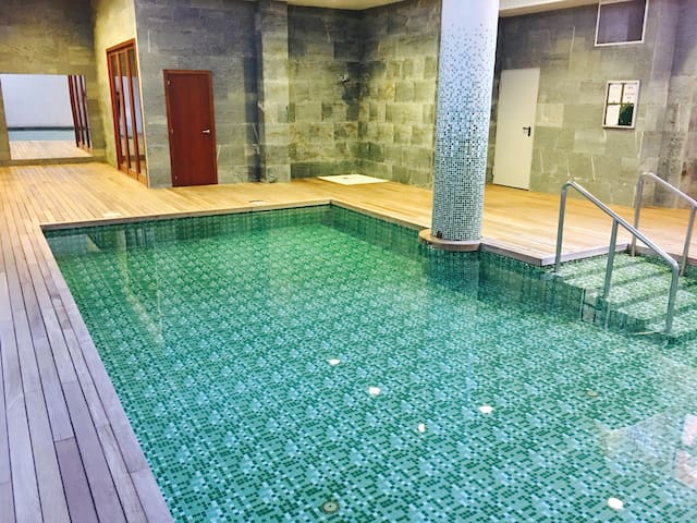 Apartamento con piscina y garaje - Santiago de Compostela - Daire