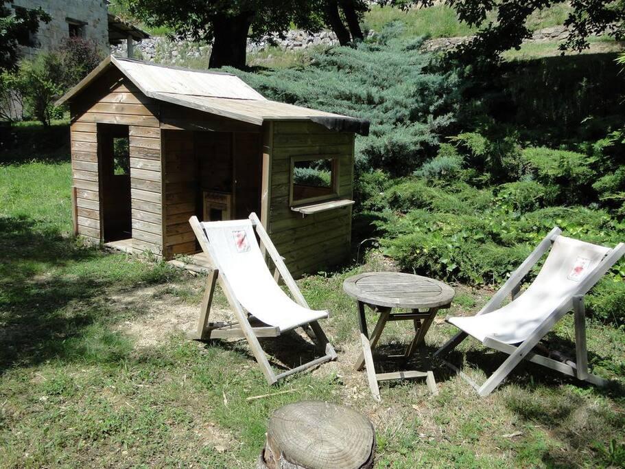 Cabane des enfants - commune aux 3 gites