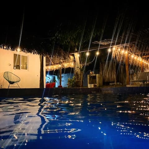 Bungalow/alberca cercano a playa, Costa Esmeralda