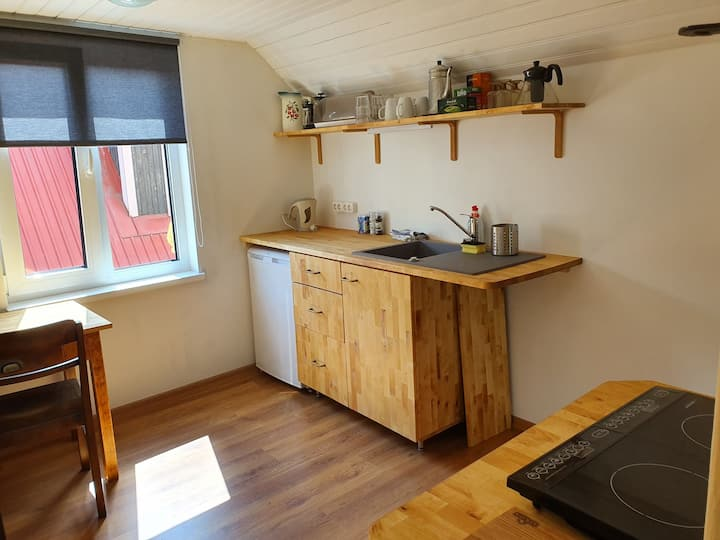 Small loft apartment next to city centre