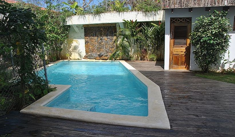 Rare Home+Guesthouse+Private Pool/Center Village - Las Terrenas - Wohnung