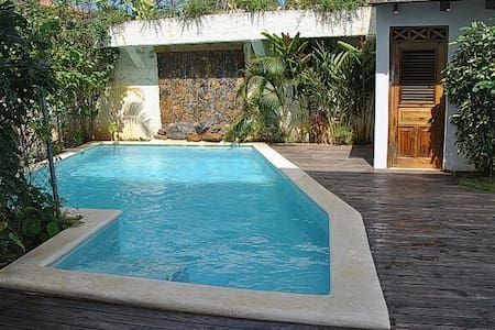 Rare Home+Guesthouse+Private Pool/Center Village - Las Terrenas