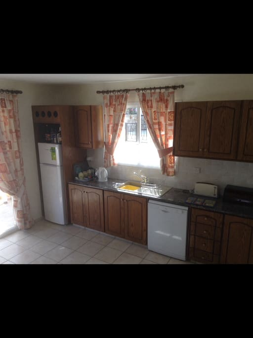 Fully equipped Kitchen with all appliances