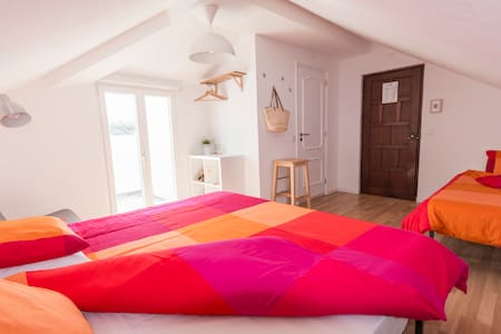Family Room 3pax  | Balcony Sea View | PrivateBath