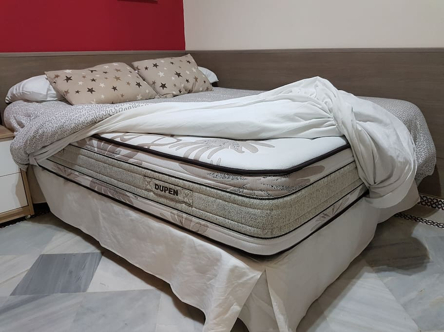 Great new king sice mattress. A comfortable and quality bed.