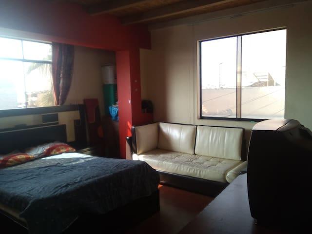 Habitación personal amplio espacio