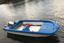 A boat with life jackets suitable for day trips can be arranged separately