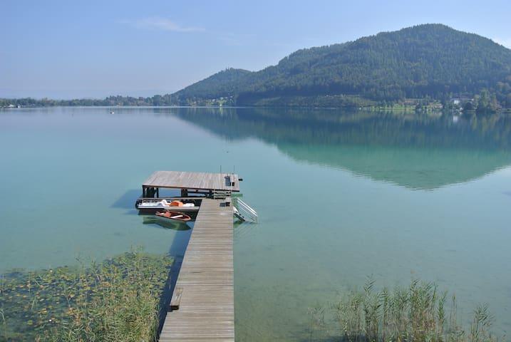 Einzigartiger Georgiberg-See-Blick