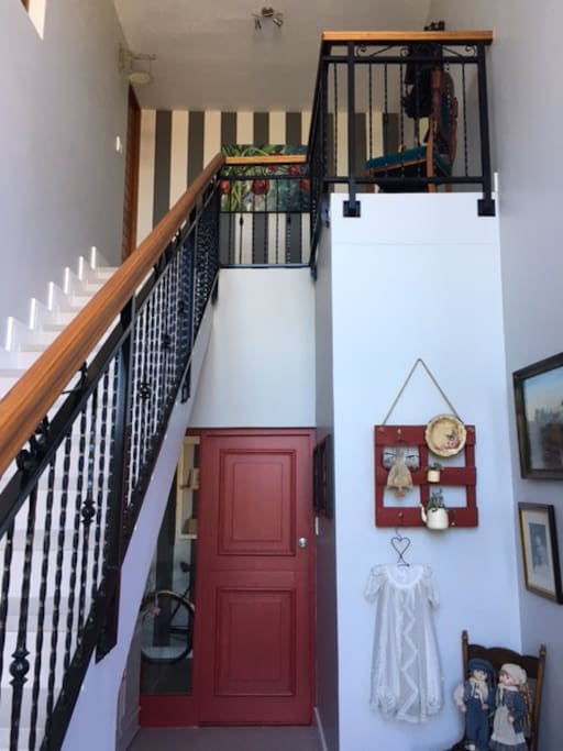 Stairs to the entrance