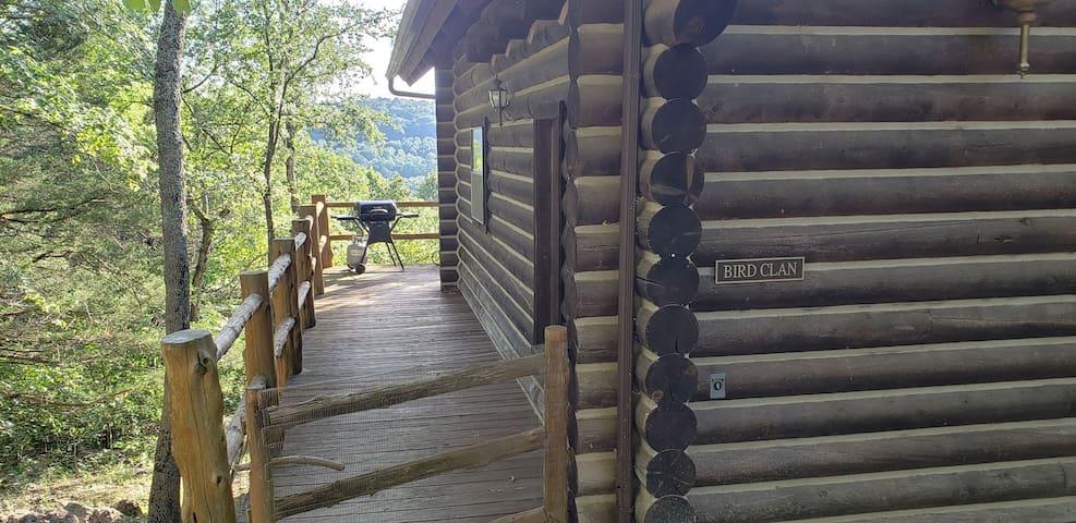 Bird Clan cabin