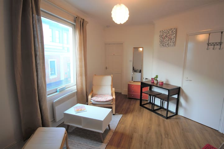 One bed first floor apartment