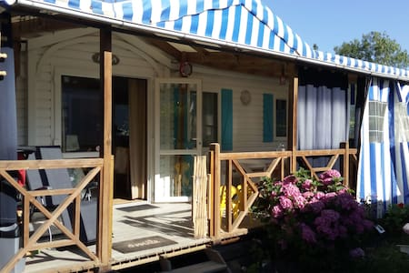 "Location mobil-home - camping ""le port chéri"""