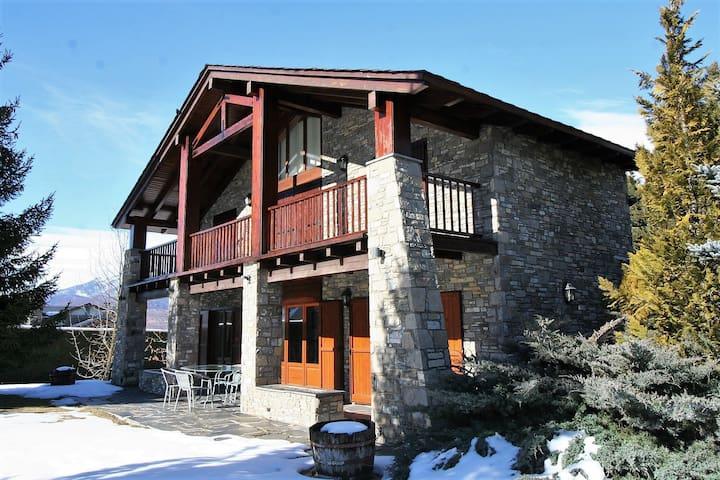 Espectacular Casa en Prats i Samsor para 10 pax - Riu de Cerdanya - House